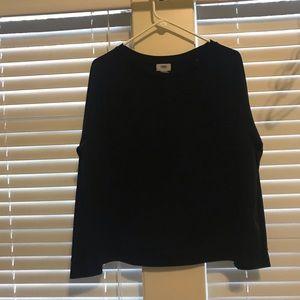 Old Navy Tops - Old navy black cozy top